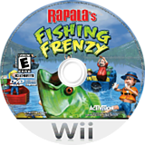 Rapala Fishing Frenzy Wii disc (RTBE52)