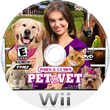 Paws & Claws: Pet Vet Wii disc (RTEE78)