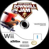 Tony Hawk's Downhill Jam Wii disc (RTHE52)