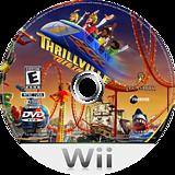 Thrillville: Off the Rails Wii disc (RTVE64)