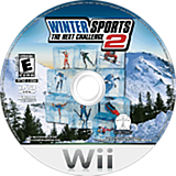 Winter Sports 2: The Next Challenge Wii disc (RU2E5Z)