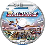 Summer Athletics: The Ultimate Challenge Wii disc (RU3E5Z)