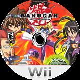Bakugan Battle Brawlers Wii disc (RUHE52)