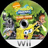SpongeBob SquarePants featuring Nicktoons: Globs of Doom Wii disc (RUSE78)