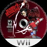 No More Heroes 2: Desperate Struggle Wii disc (RUYE41)