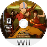 Avatar: The Last Airbender - The Burning Earth Wii disc (RVAE78)