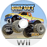 Bigfoot: Collision Course Wii disc (RVFE20)