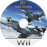 Rebel Raiders: Operation Nighthawk Wii disc (RVREFS)