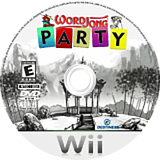 WordJong Party Wii disc (RWJENR)