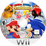 Mario & Sonic at the Olympic Games Wii disc (RWSE8P)