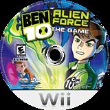 Ben 10: Alien Force Wii disc (RWTEG9)