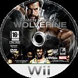 X-Men Origins: Wolverine Wii disc (RWUE52)