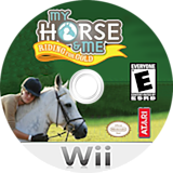My Horse & Me: Riding for Gold Wii disc (RX2E70)