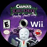 Casper's Scare School: Spooky Sports Day Wii disc (RX4E4Z)
