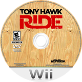 Tony Hawk: Ride Wii disc (RX5E52)