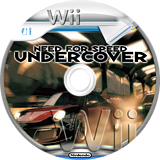 Need for Speed: Undercover Wii disc (RX9E69)