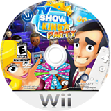 TV Show King Party Wii disc (RXKEGL)