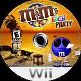 M&M's Beach Party Wii disc (RXWE20)