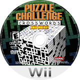 Puzzle Challenge: Crosswords and More! Wii disc (RXYE4Z)