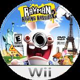 Rayman Raving Rabbids 2 Wii disc (RY2E41)