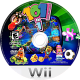 101-in-1 Party Megamix Wii disc (RYEEEB)