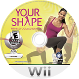 Your Shape Wii disc (RYRE41)