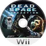 Dead Space: Extraction Wii disc (RZJE69)