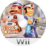 Cook Wars Wii disc (RZLE41)