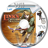 Link's Crossbow Training Wii disc (RZPE01)