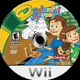 Crayola Colorful Journey Wii disc (RZUE4Z)