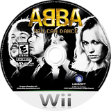 ABBA: You Can Dance Wii disc (S2EE41)