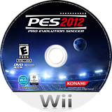 Pro Evolution Soccer 2012 Wii disc (S2PEA4)
