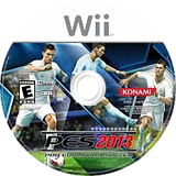 Pro Evolution Soccer 2013 Wii disc (S3IEA4)