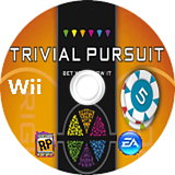 Trivial Pursuit: Bet You Know It Wii disc (S7BE69)