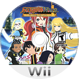 Sakura Wars: So Long, My Love Wii disc (SAKENS)