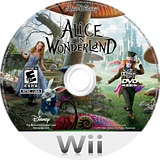 Alice in Wonderland Wii disc (SALE4Q)