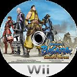 Sengoku Basara: Samurai Heroes Wii disc (SB3E08)