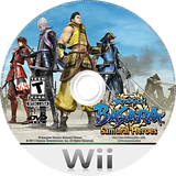 Sengoku Basara: Samurai Heroes Undub CUSTOM disc (SB3EUD)