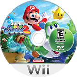 Super Mario Galaxy 2 Wii disc (SB4E01)
