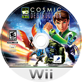 Ben 10: Ultimate Alien Cosmic Destruction Wii disc (SBJEG9)