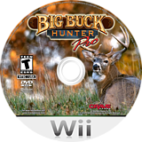 Big Buck Hunter Pro Wii disc (SBQE4Z)