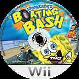 SpongeBob's Boating Bash Wii disc (SBVE78)