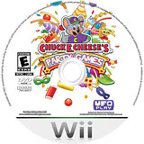 Chuck E. Cheese's Party Games Wii disc (SCEE6K)