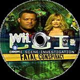 CSI: Fatal Conspiracy Wii disc (SCIE41)