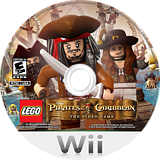 LEGO Pirates of the Caribbean: The Video Game Wii disc (SCJE4Q)