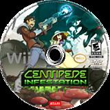 Centipede: Infestation Wii disc (SCPE70)