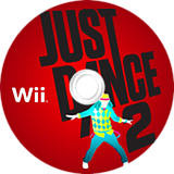 Just Dance 2 Wii disc (SD2E41)