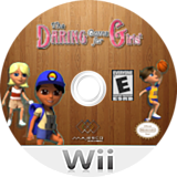 The Daring Game for Girls Wii disc (SDAE5G)