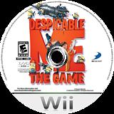 Despicable Me: The Game Wii disc (SDMEG9)