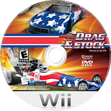 Maximum Racing: Drag & Stock Racer Wii disc (SDREYG)